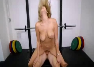 Banging with my nasty sister in the gym